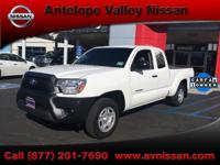 New Price! 2014 Toyota Tacoma RWD CARFAX One-Owner.