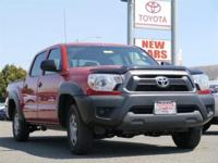 Options:  2014 Toyota Tacoma Base|Red|Abs