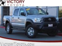 2014 Toyota Tacoma PreRunner in Silver starred featured