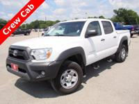 Clean CARFAX. 2014 Toyota Tacoma PreRunner RWD 4-Speed