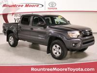 CARFAX One-Owner. Clean CARFAX. Gray 2014 Toyota Tacoma