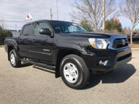 CARFAX One-Owner. TOYOTA CERTIFIED, BLUETOOTH, Tacoma