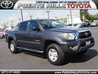 Tacoma PreRunner V6 and 4D Double Cab. Crew Cab! Come