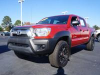 Exterior Color: red, Body: Double Cab, Engine: 4.0 6