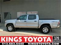 Certified. Silver Sky Metallic 2014 Toyota Tacoma V6