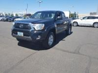 CARFAX 1-Owner, LOW MILES - 13,364! Tacoma trim, Black