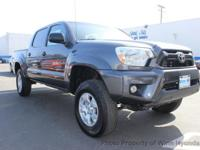 This 2014 Toyota Tacoma Double Cab 4dr Pickup 4D 5 ft