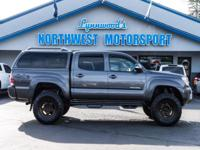 Clean Carfax 4x4 Lifted Truck with Matching Canopy!