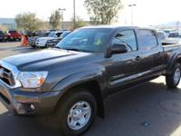 Tacoma trim. CARFAX 1-Owner, Toyota Certified,