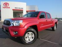 This 2014 Toyota Tacoma comes equipped with satellite