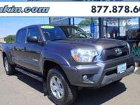 New Price! 2014 Toyota Tacoma Clean CARFAX. 4WD.