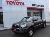 Certified. Magnetic Gray Metallic 2014 Toyota Tacoma V6