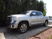 LOADED PLATINUM 4X4 CREWMAX TUNDRA. ONE OWNER IN