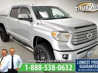 Recent Arrival! New Price!2014 Toyota Tundra Silver,