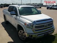 Clean CARFAX. White 2014 Toyota Tundra Platinum 5.7L V8