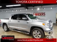 Toyota Certified. 1794 4WD, Navigation System, Power