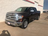 Sunset Bronze Mica 2014 Toyota Tundra 1794 4WD 6-Speed