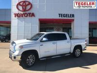 2014 Toyota Tundra Limited CrewMax White RWD 6-Speed