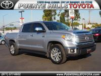 *ONE AT THIS PRICE*. Tundra Limited CrewMax, Toyota