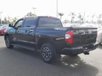 Options:  2014 Toyota Tundra Limited|Black|4Wd. Clean