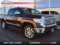 2014 Toyota Tundra Limited Sunset Bronze Mica Clean