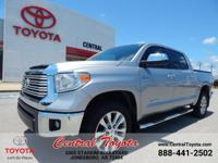 **TOYOTA CERTIFIED** LIMITED! HEATED LEATHER SEATS!