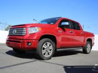 This 2014 Toyota Tundra 4WD Truck Platinum is offered