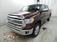 Options:  2014 Toyota Tundra 4Wd Crewmax 5.7L V8 6-Spd