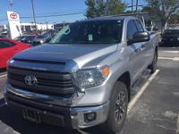 CERTIFIED TRD OFF ROAD DOUWBLE CAB TUNDRA. CLEAN AND