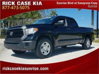 2014 Toyota Tundra SR in Black, 150 Point Inspection,