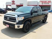 One Owner. Black 2014 Toyota Tundra SR5 RWD 6-Speed