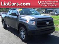 2014 Toyota Tundra in Gray, Bluetooth Smart Technology,