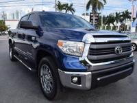 One-Owner Local Trade-in!. Tundra SR5 CrewMax, 4D