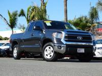 Toyota Certified. Low miles indicate the vehicle is