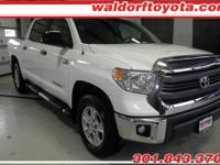5.7L V-8 4 Wheel Drive w/ SR5 Package - Great Value -