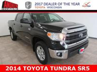 One-Owner. Clean CARFAX. Certified. Black 2014 Toyota