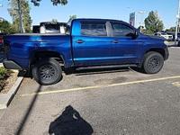 Clean CARFAX. Blue 2014 Toyota Tundra SR5 CrewMax 4WD