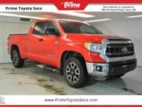 CARFAX One-Owner. 2014 Toyota Tundra SR5 in Radiant