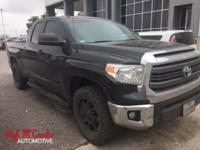 From mountains to mud, this Black 2014 Toyota Tundra