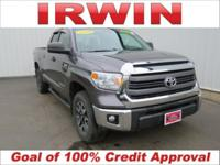 4WD! TOYOTA CERTIFIED! LOW MILES--LESS THAN HALF THE