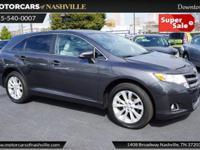 This 2014 Toyota Venza 4dr 4dr Wagon I4 AWD LE features