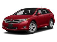 Check out this certified 2014 Toyota Venza LE. Its