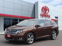 Clean CARFAX. Tan 2014 Toyota Venza Limited AWD 6-Speed
