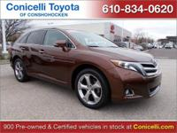 PREMIUM & KEY FEATURES ON THIS 2014 Toyota Venza