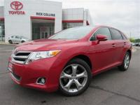 V-6 engine and all-wheel drive!! This 2014 Toyota Venza