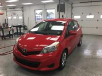 Recent Arrival! This 2014 Toyota Yaris L in Red