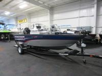 NICE 2014 TRACKER PRO GUIDE V175 WT WITH ONLY 35 ENGINE
