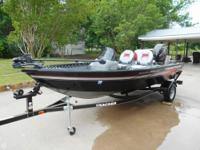 Great fishing package. Aluminum hull and hardly used.