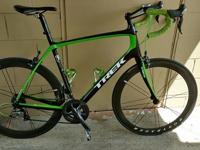 2014 Trek P1 green and black 60cm all Ultegra Domane