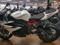 2014 Triumph Daytona 675R ABS BRAND NEW!!!!! Price does